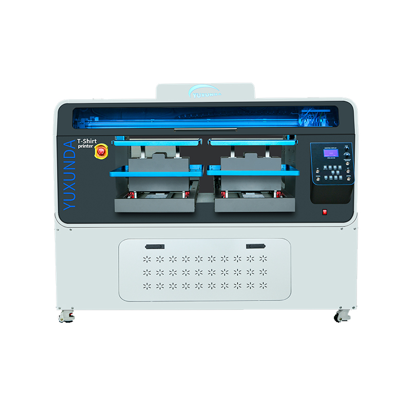 Double locations DTG printer